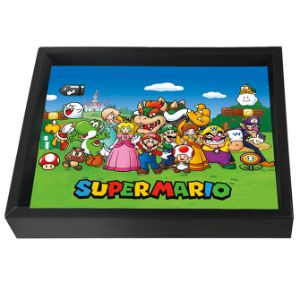 Super Mario Characters Shadow Box Wall Art 3D