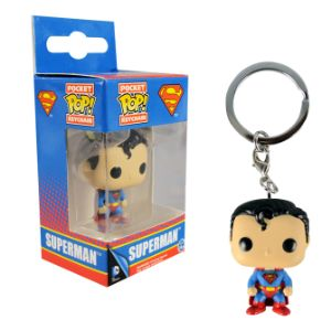 Superman Pop Keychain