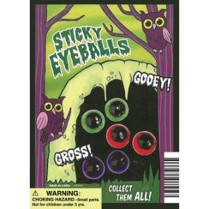 Sticky Eyeballs Display Card