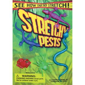 Stretchy Pests Live Display