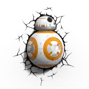 Star Wars BB8 Droid 3D Light