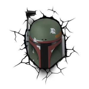 Star Wars Boba Fett Helmet 3D Light