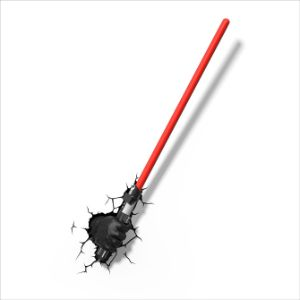Star Wars Darth Vader Light Saber 3D Light