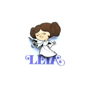 Star Wars Leia Mini 3D Light