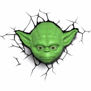 Star Wars Yoda 3D Light