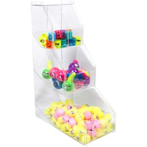 Acrylic Merchandise Display - 3 Tier Bin