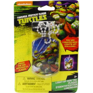 TMNT Light-Up Dog Tag