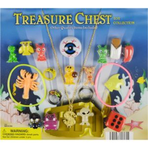 Treasure Chest .25 Economy Mix in 2'' Capsules (250 pcs)