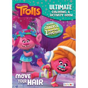 Trolls Ultimate Activity Book