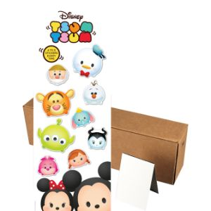 Disney Tsum Tsum Stickers in Folders (300 pcs)