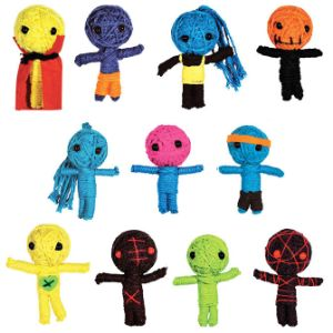Voodoo Dolls in Bulk Bag (100 pcs)