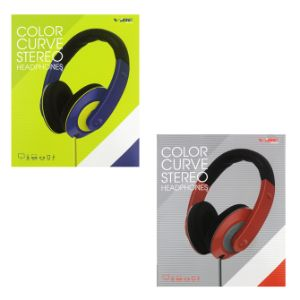 Color Curve Stereo Headphones Boxed-Strapped