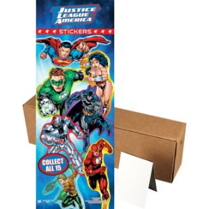 DC Superheroes Stickers in Folders