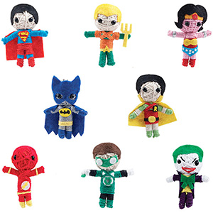 DC Comics String Dolls in Bulk Bag