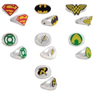 DC Comics Power Rings in Bulk Bag