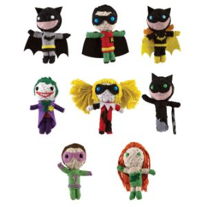 DC Comics Batman String Dolls in Bulk Bag