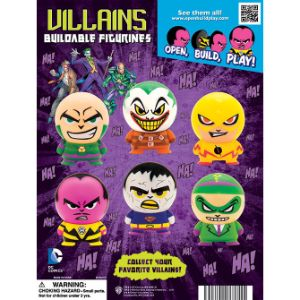 DC Villain Capsule Buildable Figurine Tomy Display