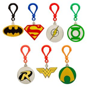 DC Comics Back Pack Clips in 2'' Capsules