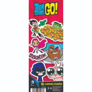 Teen Titans Go! Series 1 Stickers Display Card