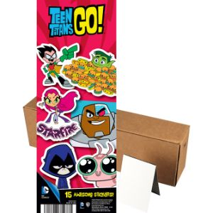 Teen Titans Go! Stickers, Series 1 in Folders