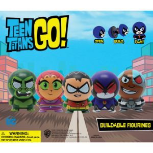 Teen Titans Go! Buildables Display Card