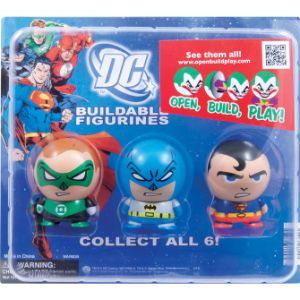DC Comics Buildable Figurines Blister Display