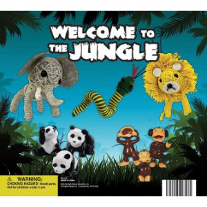Welcome to the Jungle Display Card