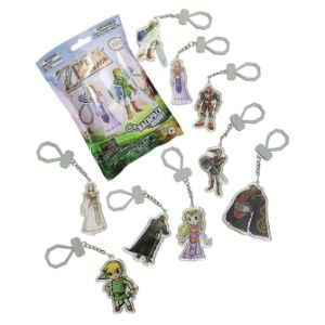 Zelda Laser Cut Keychain Backpack Buddies Blind Bags