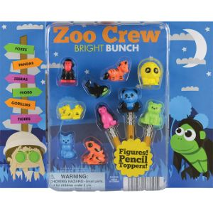 Zoo Crew Bright Bunch Figurines Blister Display